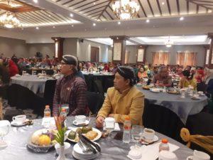 Gus Hilmy menghadiri Rakordal DIY di Grand Dafam Rohan Hotel